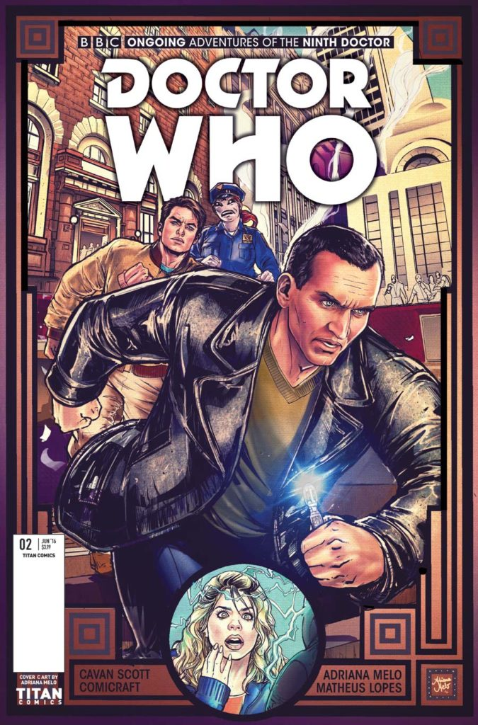 TITAN COMICS - NINTH DOCTOR #2 - COVER C by Adriana Melo