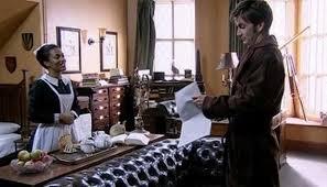 Martha Jones (Freema Agyeman) and John Smith/The Doctor (David Tennant) - Doctor Who - Human Nature (c) BBC