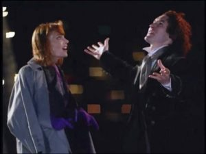 The Doctor (Paul McGann) and Grace Holloway (Daphne Ashbrook) - Doctor Who TV Film