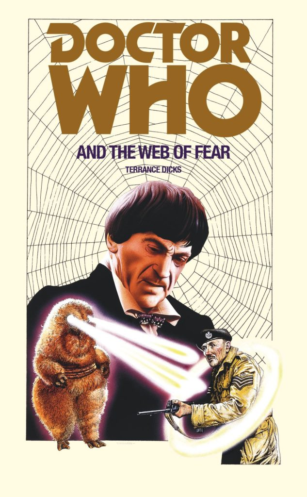 Target Books - Doctor Who and the Web of Fear