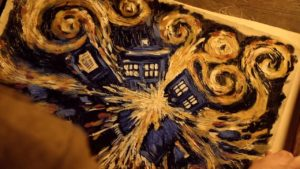 The Pandorica Opens by Van Gough - Doctor Who (c) BBC