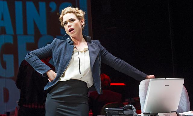 Billie Piper as Page Britain in Great Britain Photograph: Tristram Kenton for the Guardian