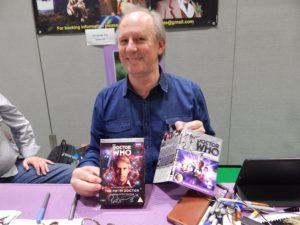 Peter Davison at MCM Comic Con June 2016 - Photo Credit Daniel Rice