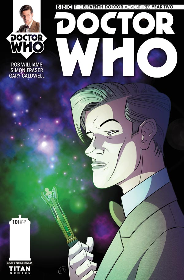 ELEVENTH DOCTOR #2.10 - Cover A