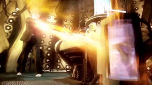 Tenth Doctor Regeneration - Doctor Who Journey's End (c) BBC