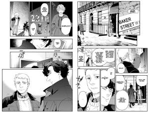 SHERLOCK: A STUDY IN PINK #1 - Preview 1