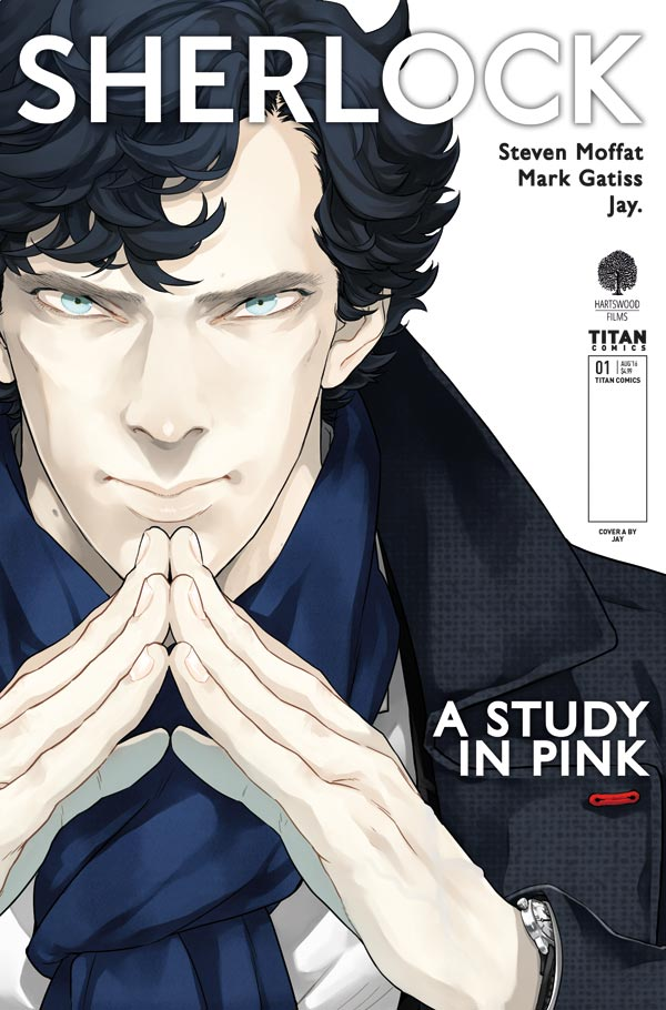 SHERLOCK: A STUDY IN PINK #1 - Cover A by Jay