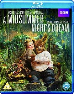 A Midsummer Night's Dream Blu-ray Cover