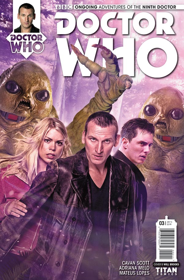 DOCTOR WHO: THE NINTH DOCTOR #3 - Cover B