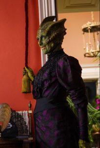 Doctor Who – Series 8 – Episode 1 – Deep Breath – Neve McIntosh as Vastra– (c) BBC