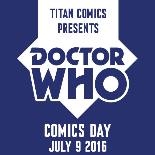 Doctor Who Comic Day Logo