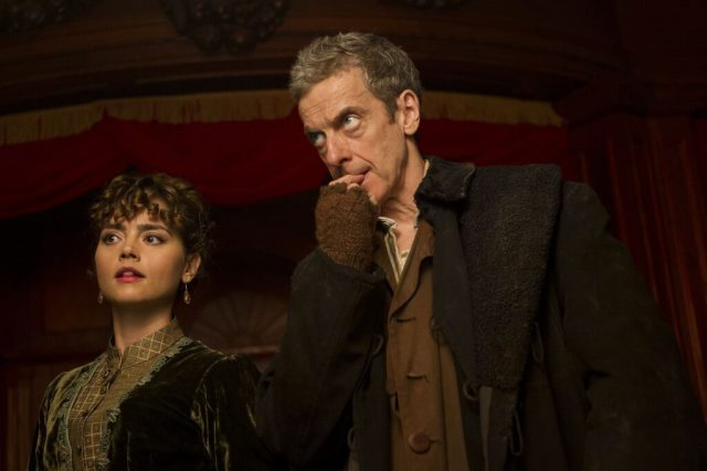 Doctor Who - Deep Breath - The Doctor (PETER CAPALDI), Clara (JENNA COLEMAN) - (C) BBC - Photographer: Adrian Rogers
