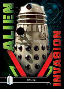 TOPPS DOCTOR WHO EXTRATERRESTRIAL ENCOUNTERS TRADING CARDS - Dalek Invasion