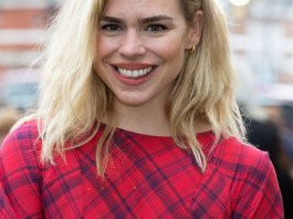 """LONDON, ENGLAND - JUNE 09: Billie Piper attends the Live Premiere of """"London Road"""" at Ritzy Brixton on June 9, 2015 in London, England. (Photo by Dave J Hogan/Getty Images)"""