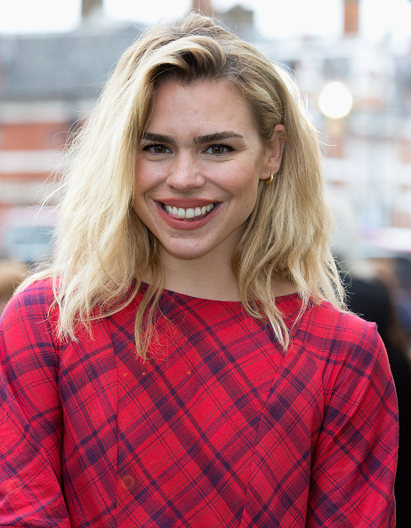"LONDON, ENGLAND - JUNE 09: Billie Piper attends the Live Premiere of ""London Road"" at Ritzy Brixton on June 9, 2015 in London, England. (Photo by Dave J Hogan/Getty Images)"