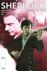 TITAN COMICS SHERLOCK #2 COVER C