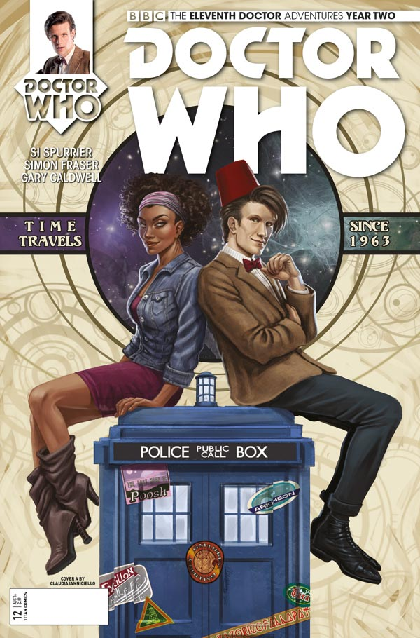 TITAN COMICS - ELEVENTH DOCTOR 2.12 - COVER A BY Peter Snejbjerg