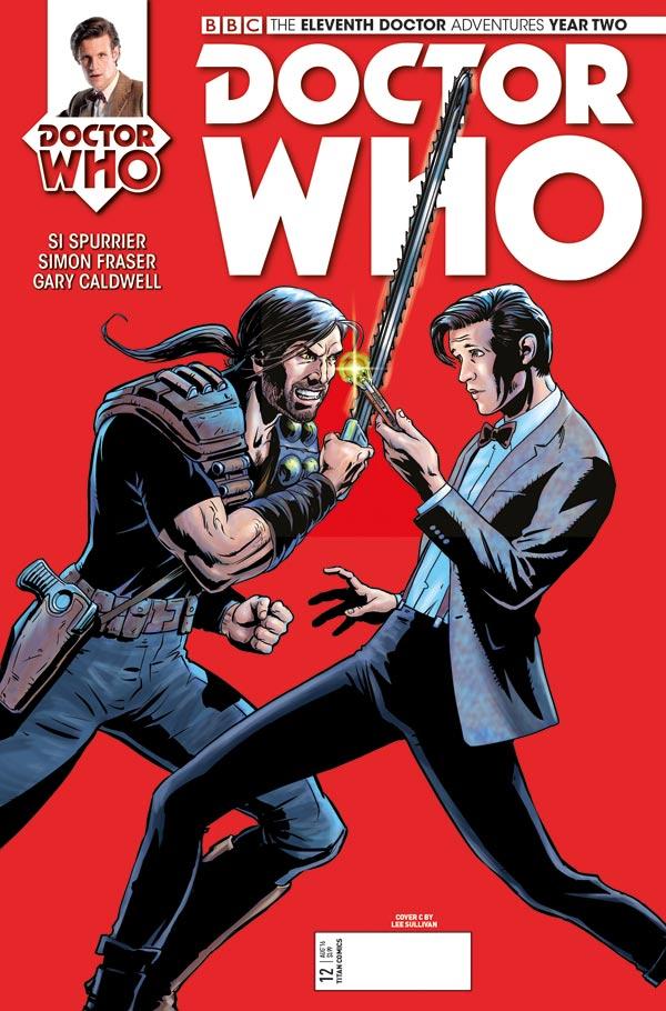 TITAN COMICS - ELEVENTH DOCTOR 2.12 - COVER B BY Photo Shield