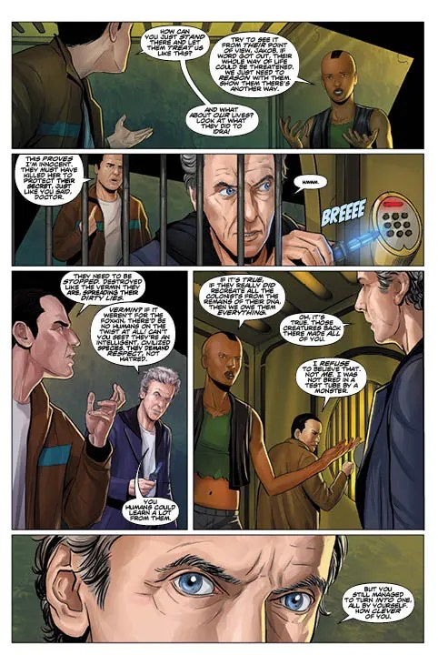 TITAN COMICS - TWELFTH DOCTOR #2.8 PREVIEW 2