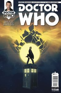 TITAN COMICS NINTH DOCTOR #4 Cover A by Verity Glass