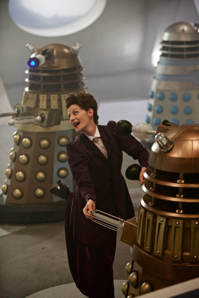Doctor Who - The Witch's Familiar (No. 2) Missy (MICHELLE GOMEZ) - (C) BBC - Photographer: Simon Ridgway