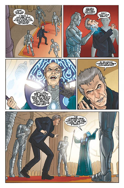 TITAN COMICS - DOCTOR WHO: SUPREMACY OF THE CYBERMEN #2 PREVIEW 3