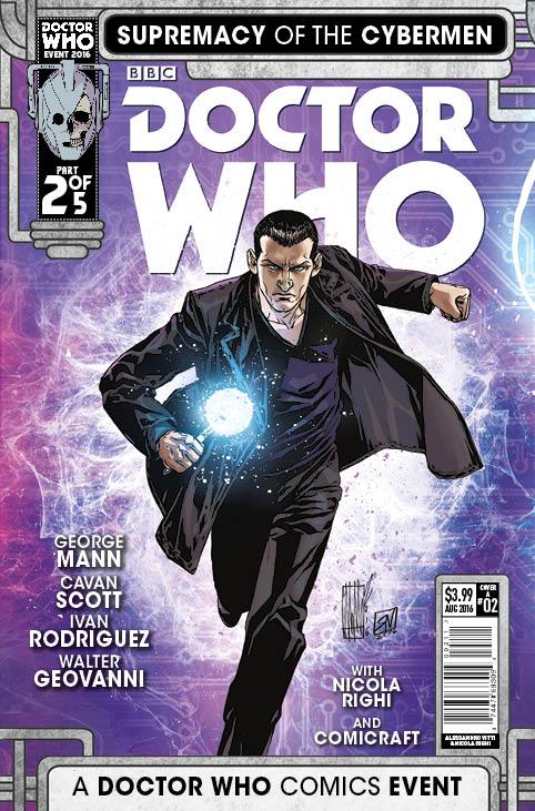 TITAN COMICS - DOCTOR WHO: SUPREMACY OF THE CYBERMEN #2 COVER A BY Alessandro Vitti & Nicola Righi