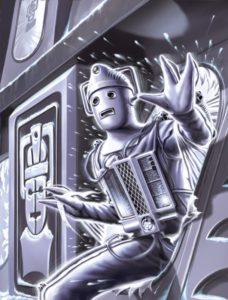 Cyberman Flash Back Art by artist Tom Connell