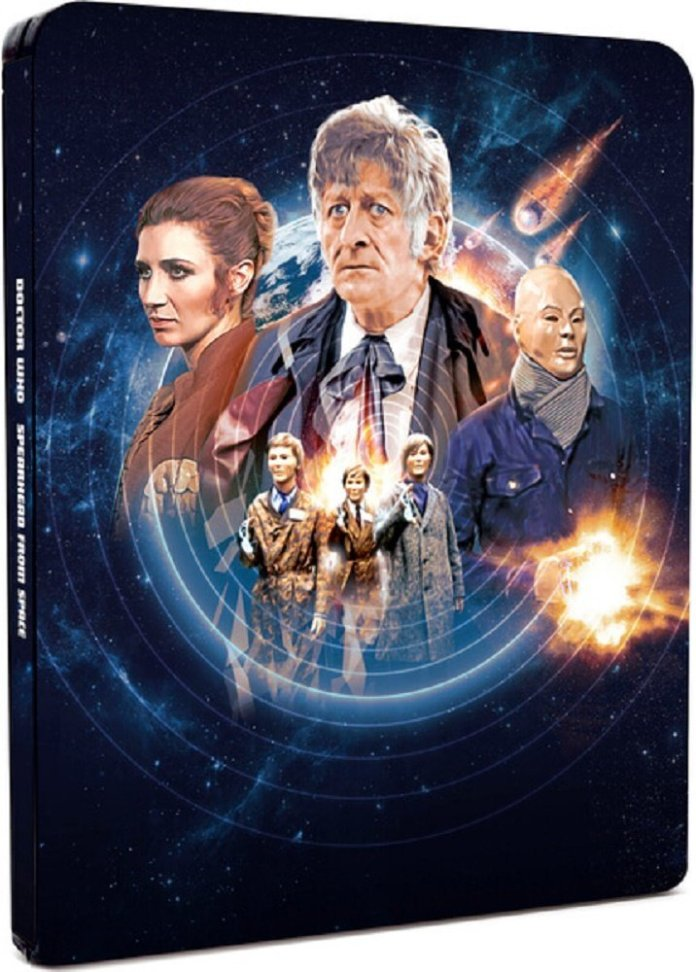 Spearhead From Space Limited Edition Steelbook Blu-Ray (c) BBC