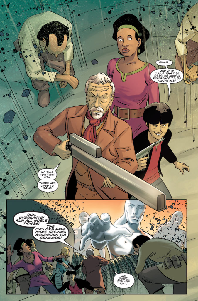 TITAN COMICS - ELEVENTH DOCTOR 2.12 - PREVIEW 2