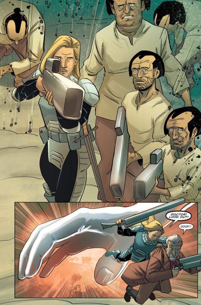 TITAN COMICS - ELEVENTH DOCTOR 2.12 - PREVIEW 3