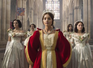 Jenna Coleman as Queen Victoria 'Victoria' TV show - 2016 - Photo by ITV/REX/Shutterstock