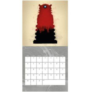 Doctor Who Official 2017 Mini Calendar