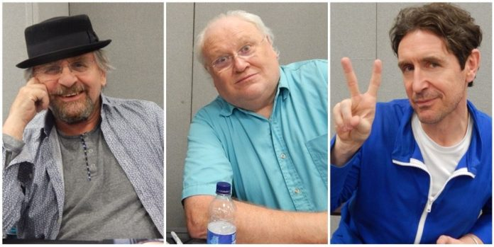 Sylvester McCoy, Colin Baker and Paul McGann - London Film and Comic Con July 2016 - Photos by Daniel Rice