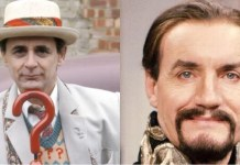 Sylvester McCoy and Anthony Ainley