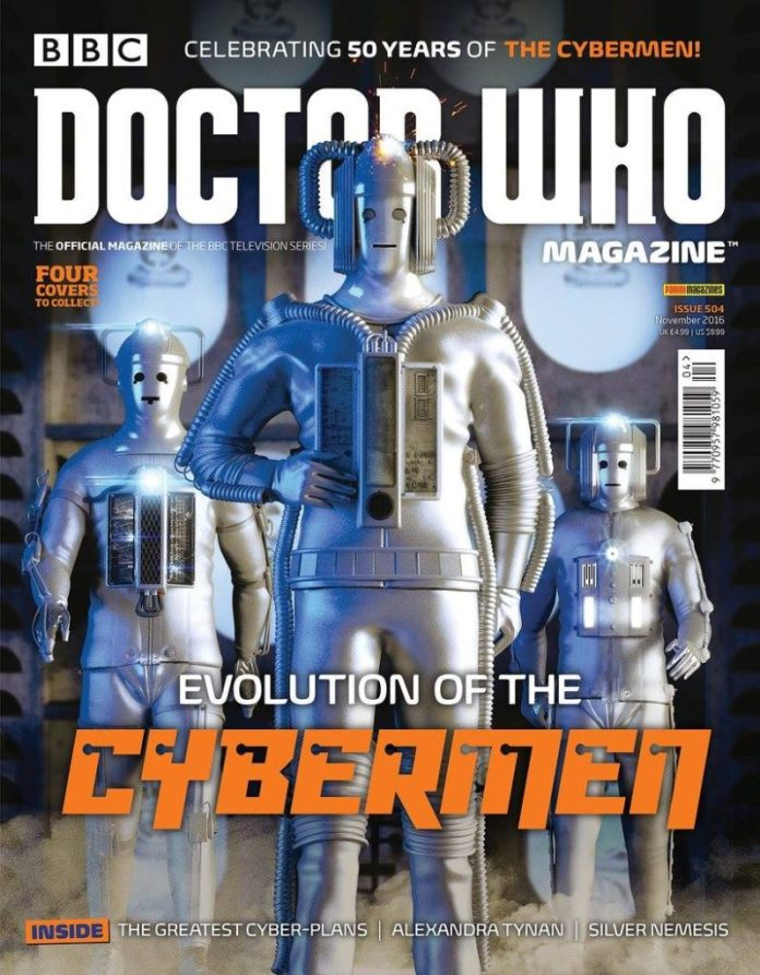 Doctor Who Magazine #504 - Cover 2 of 4