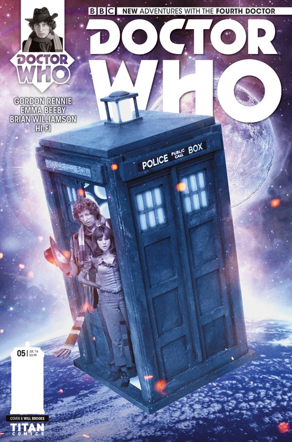 Titan Comics Doctor Who: Fourth Doctor #5 Cover B: Photo – Will Brooks