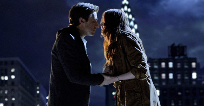 DOCTOR WHO: SERIES 7, SET 1 - EPISODE 5: The Angels Take Manhattan Picture Shows: Rory Williams (ARTHUR DARVILL) and Amy Pond (KAREN GILLAN)