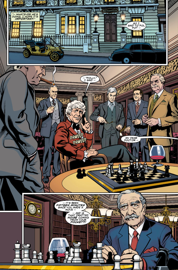 DOCTOR WHO: THIRD DOCTOR #1 PREVIEW 1