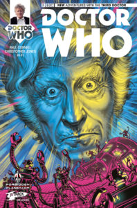 DOCTOR WHO: THIRD DOCTOR #1 Forbidden Planet/Jetpack store variant: Boo Cook