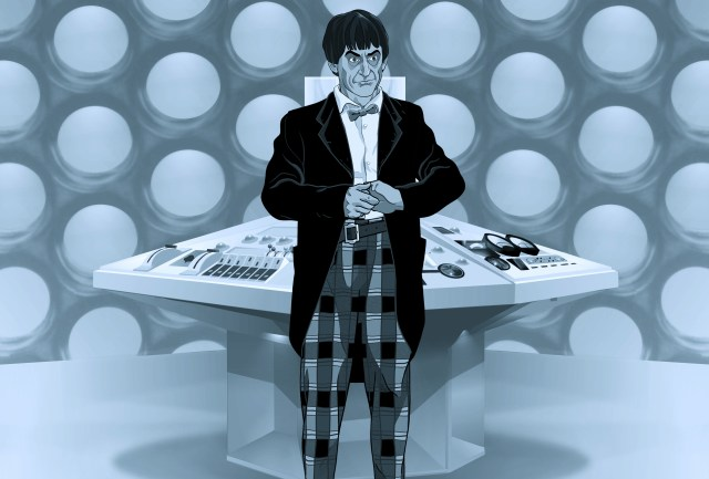 Second Doctor Patrick Troughton - Doctor Who - The Power of the Daleks Animation (c) BBC