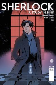 SHERLOCK: A STUDY IN PINK #3 COVER A BY JAY