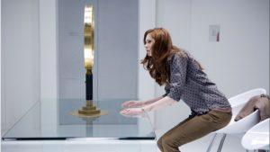 Amy Pond (Karen Gillan) - Doctor Who - The Girl Who Waited (C) BBC