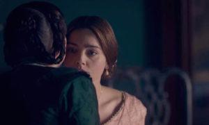 Queen Victoria (JENNA COLEMAN) and Baroness Lehzen (DANIELA HOLTZ) - Victoria Episode 6 (c) ITV