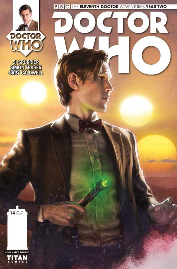 TITAN COMICS - ELEVENTH DOCTOR #2.14 COVER A BY Alex Ronald