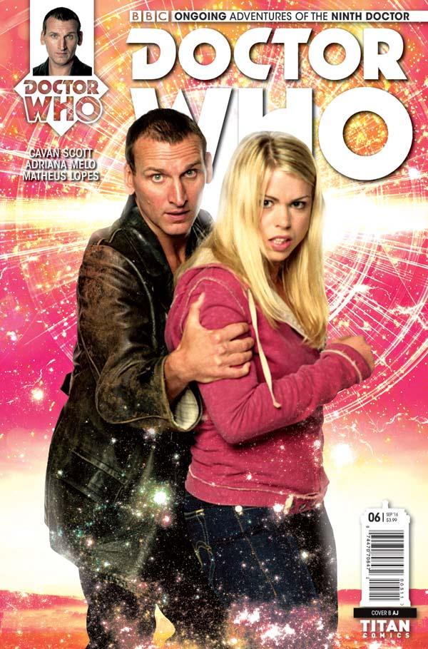 TITAN COMICS - Doctor Who: Ninth Doctor #6 Cover B Photo
