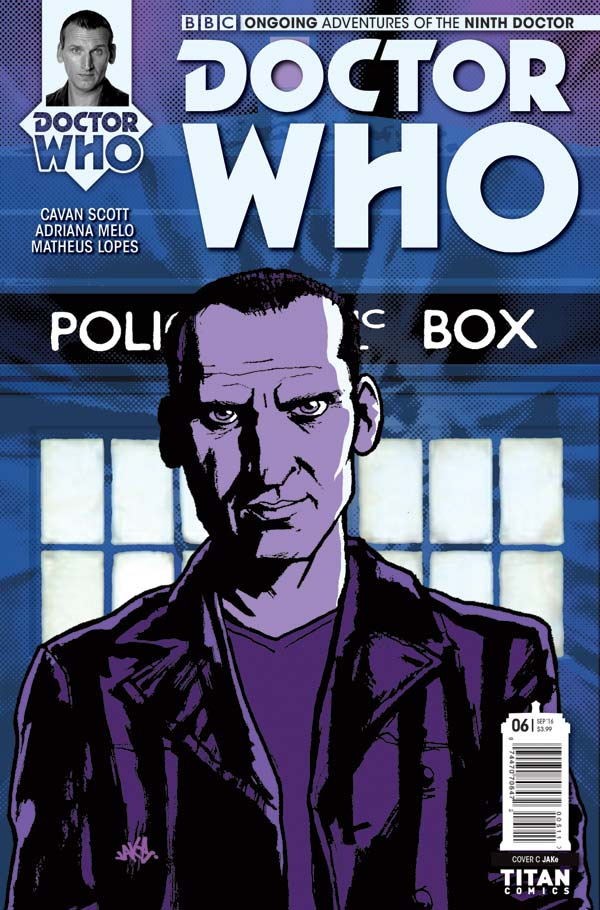 TITAN COMICS - Doctor Who: Ninth Doctor #6 Cover C jaKE
