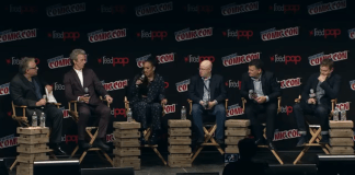 Full Doctor Who Panel - New York Comic Con 7th Oct 2016