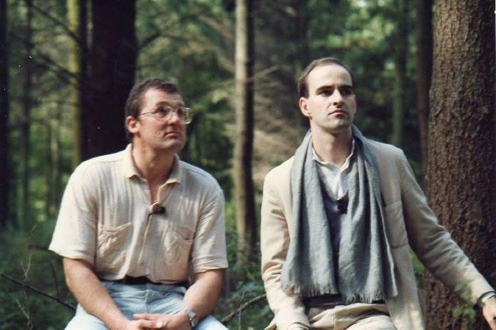 Ian Marter and Nick Briggs