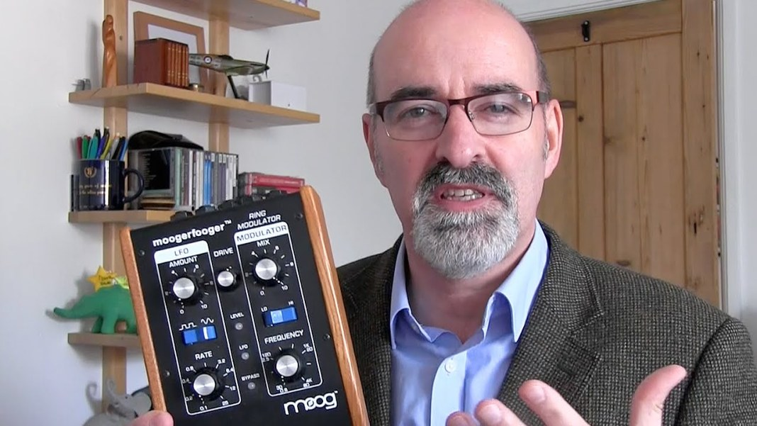 Nicholas Briggs and the Modulator (c) BBC